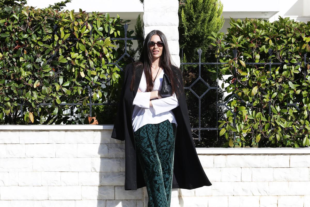 stellaasteria balmain hm green pants