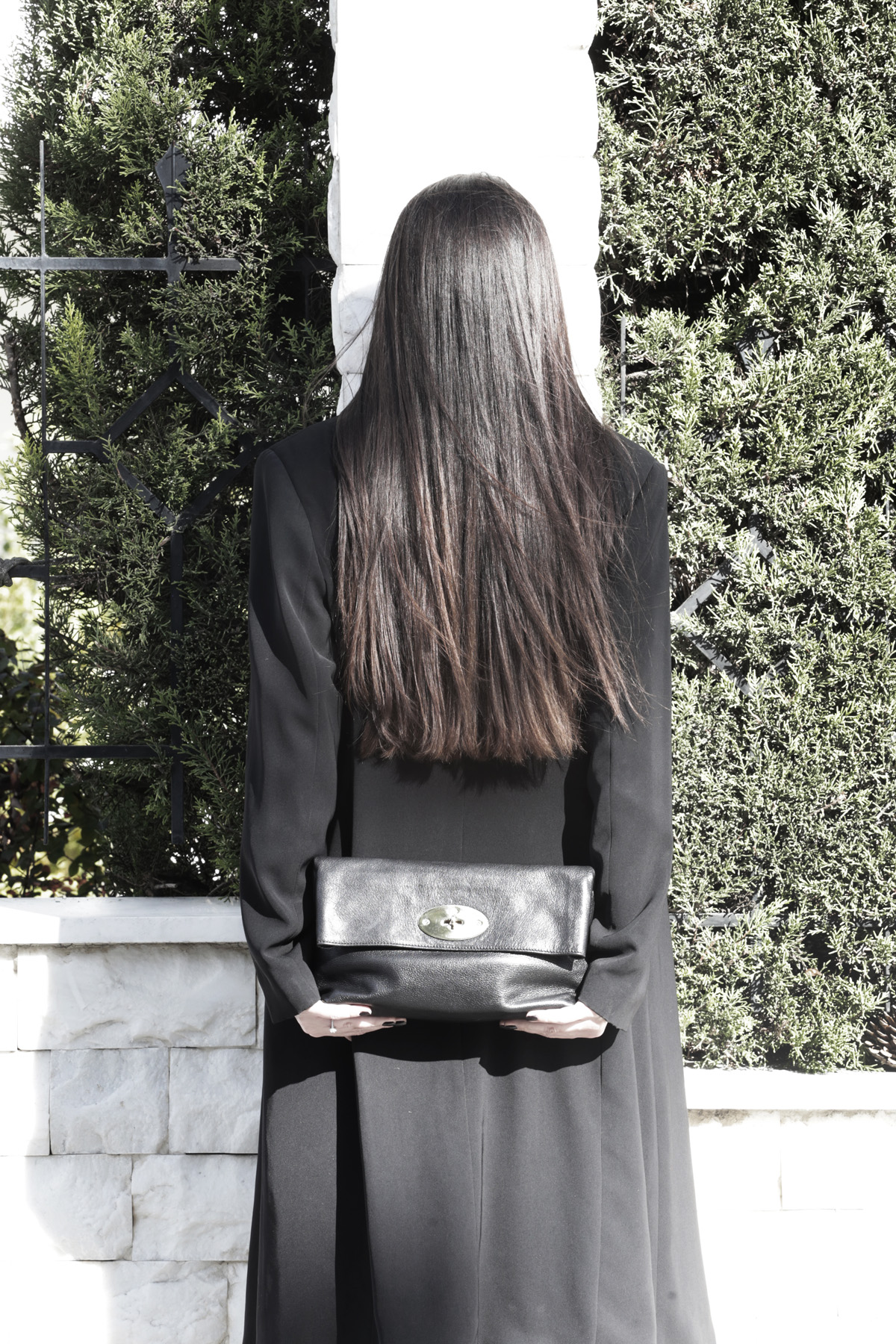 long hair mulberry bag