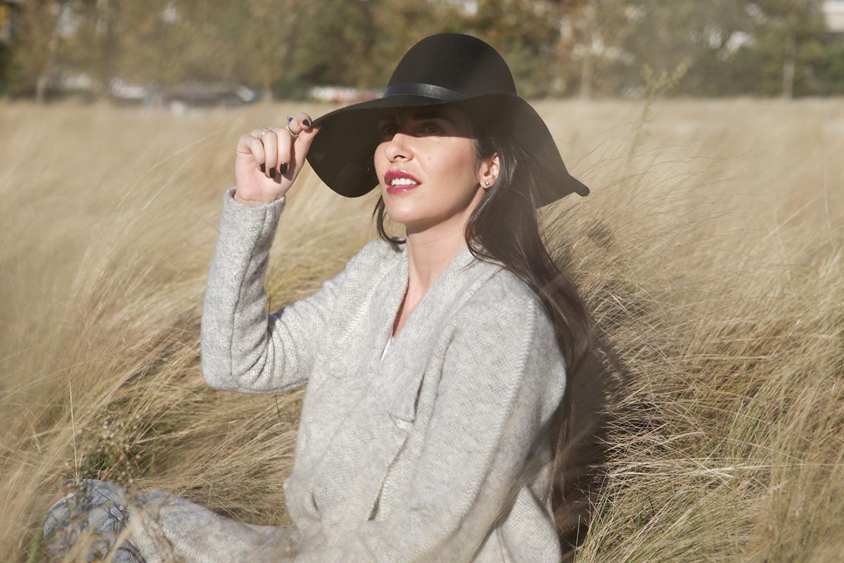 black hat style