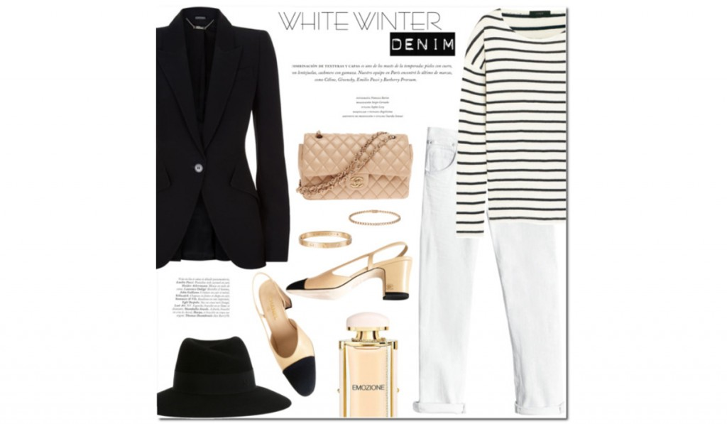 Winter White Denim – How to wear winter whites