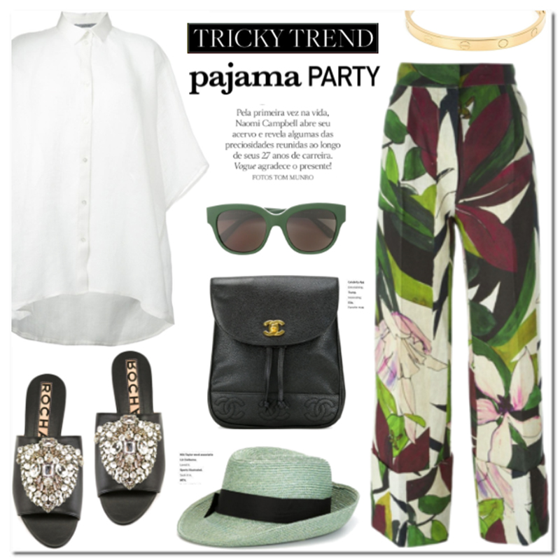 pyjama look spring summer 2016 fashion