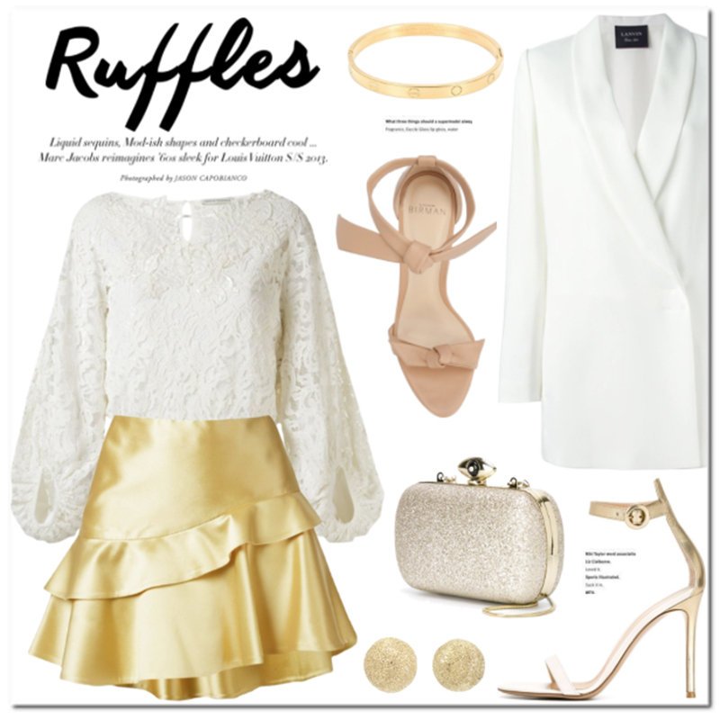 Ruffle Skirts and how to wear them