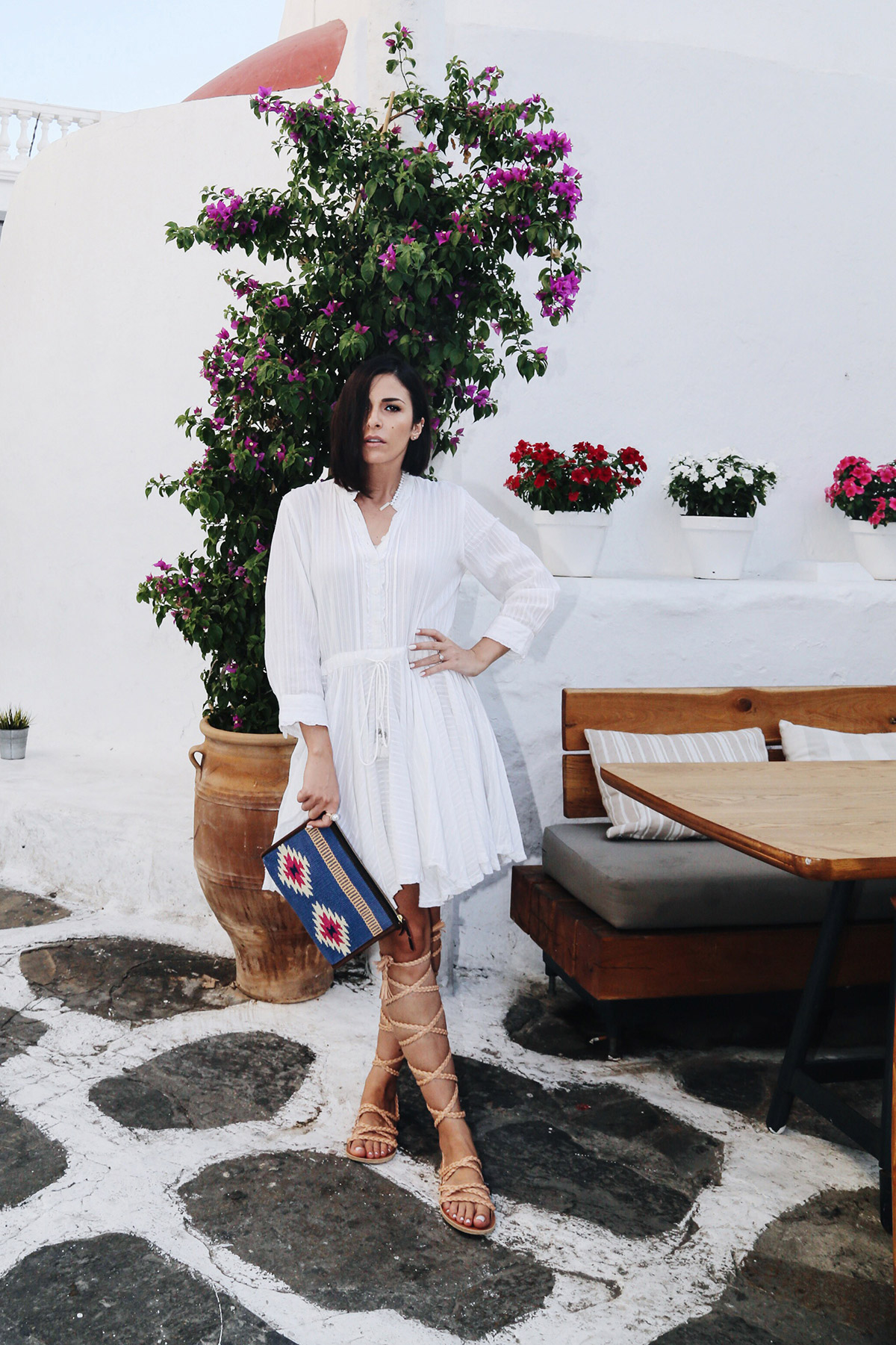 how to dress in Mykonos
