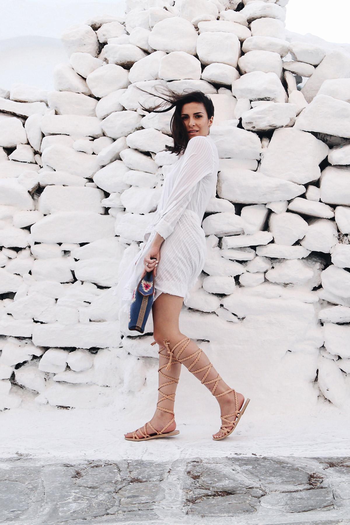 how to dress in Mykonos