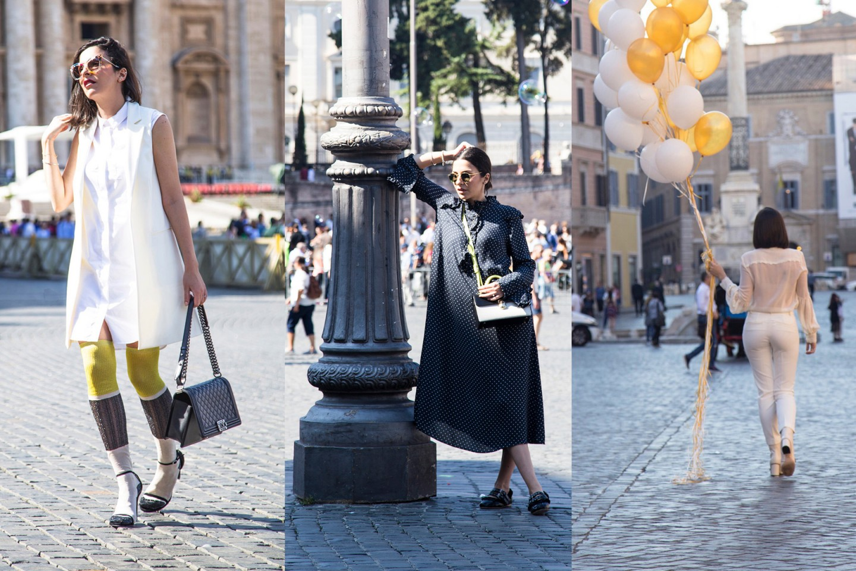 Rome Outfit Recap