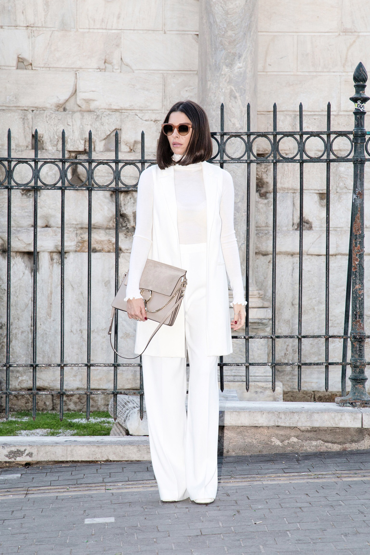 all white look by Stella Asteria