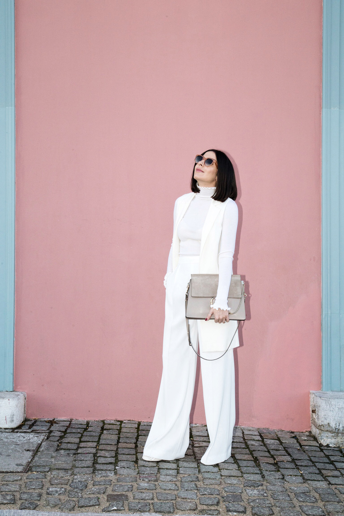how to wear all white look