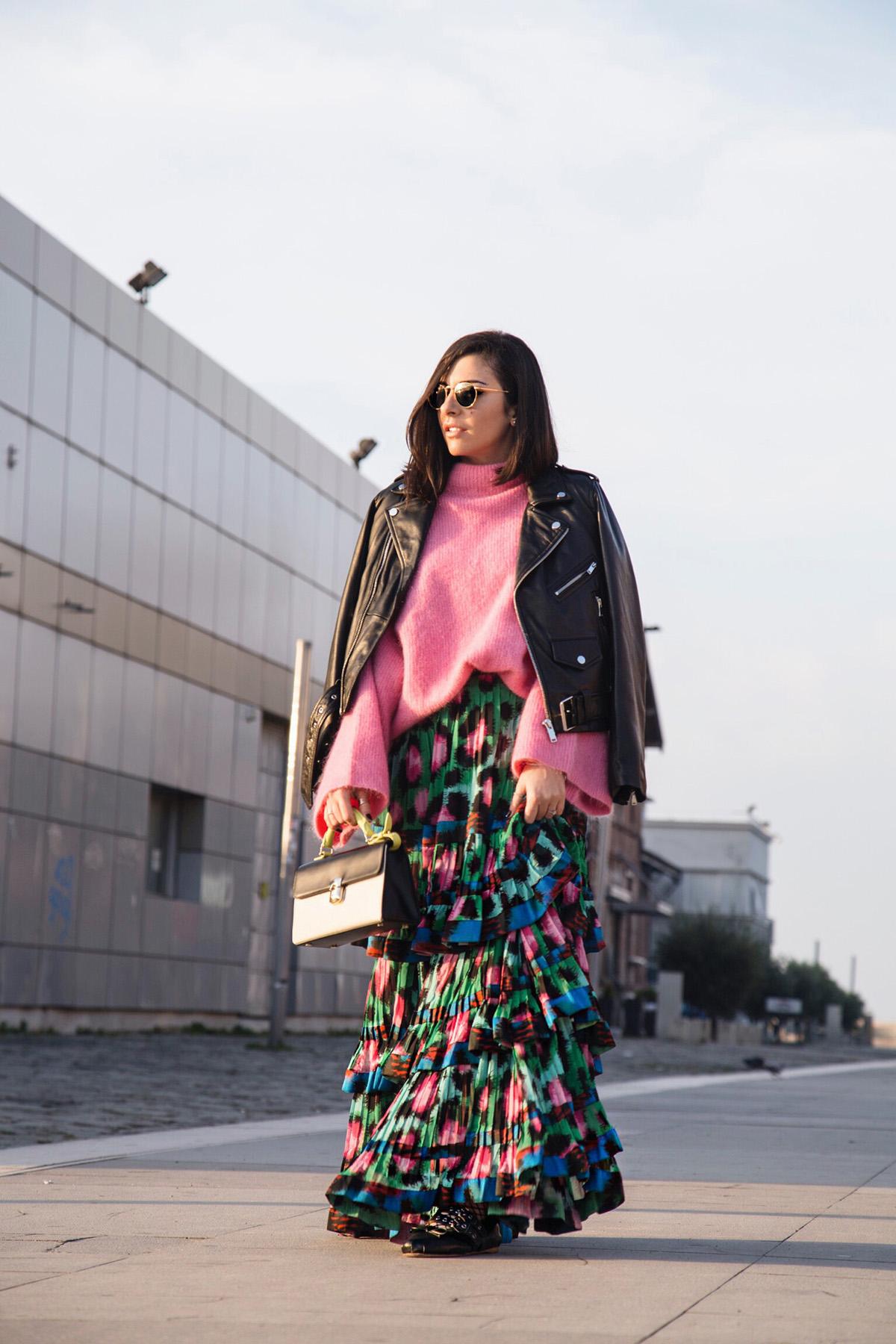 h&m x kenzo skirt