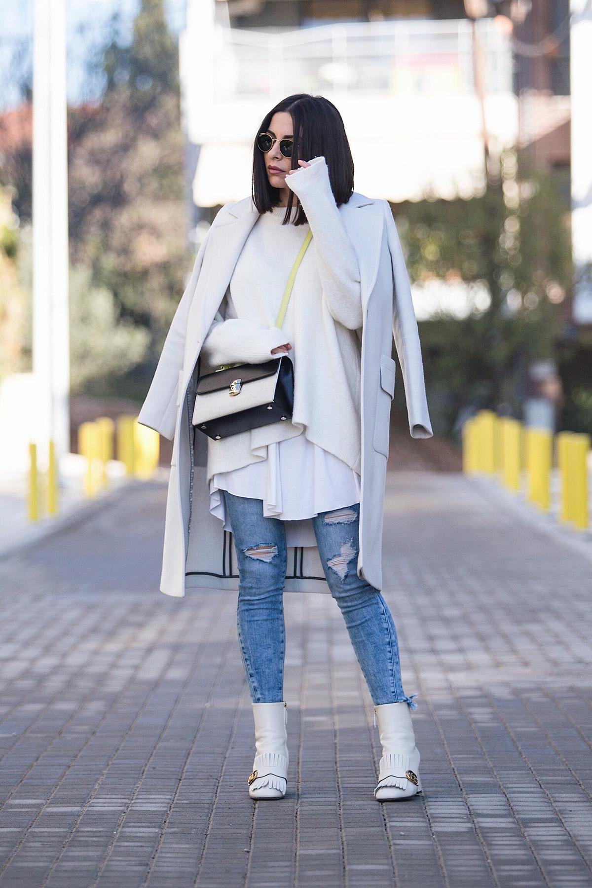 white on white on white style