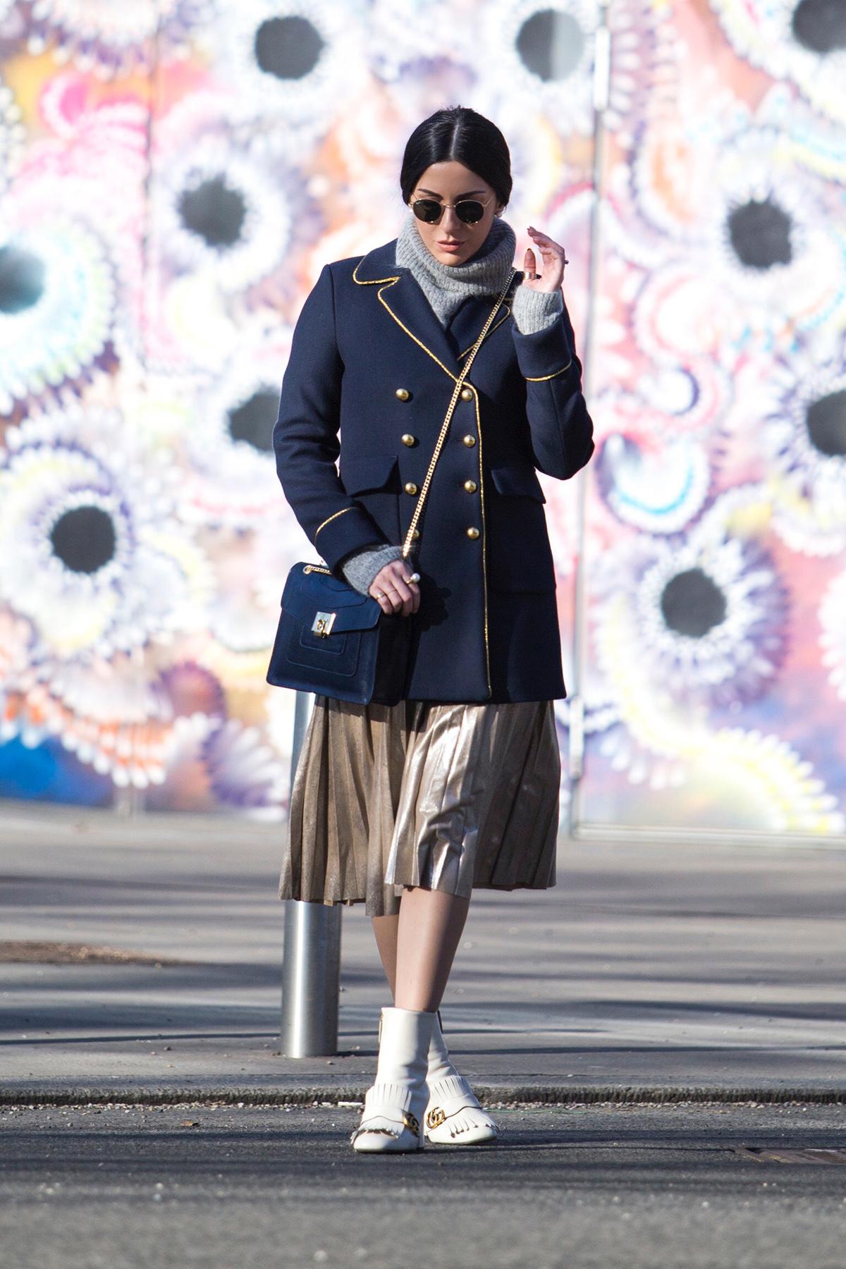 navy military coat