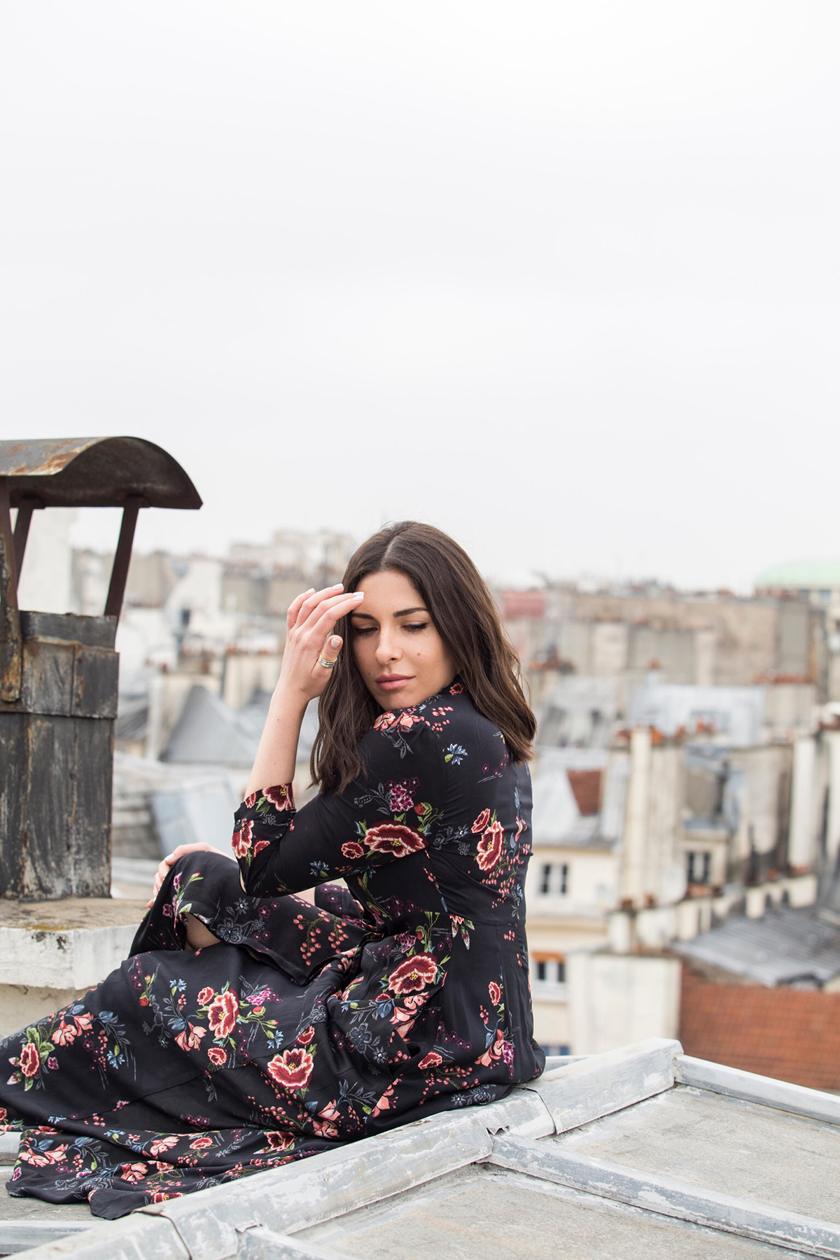 Ode To The Parisian Rooftops by Stella Asteria