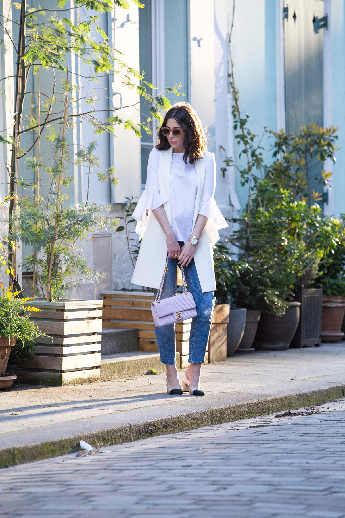statement sleeves shirt by Stella Asteria - Fashion & Lifestyle Blogger