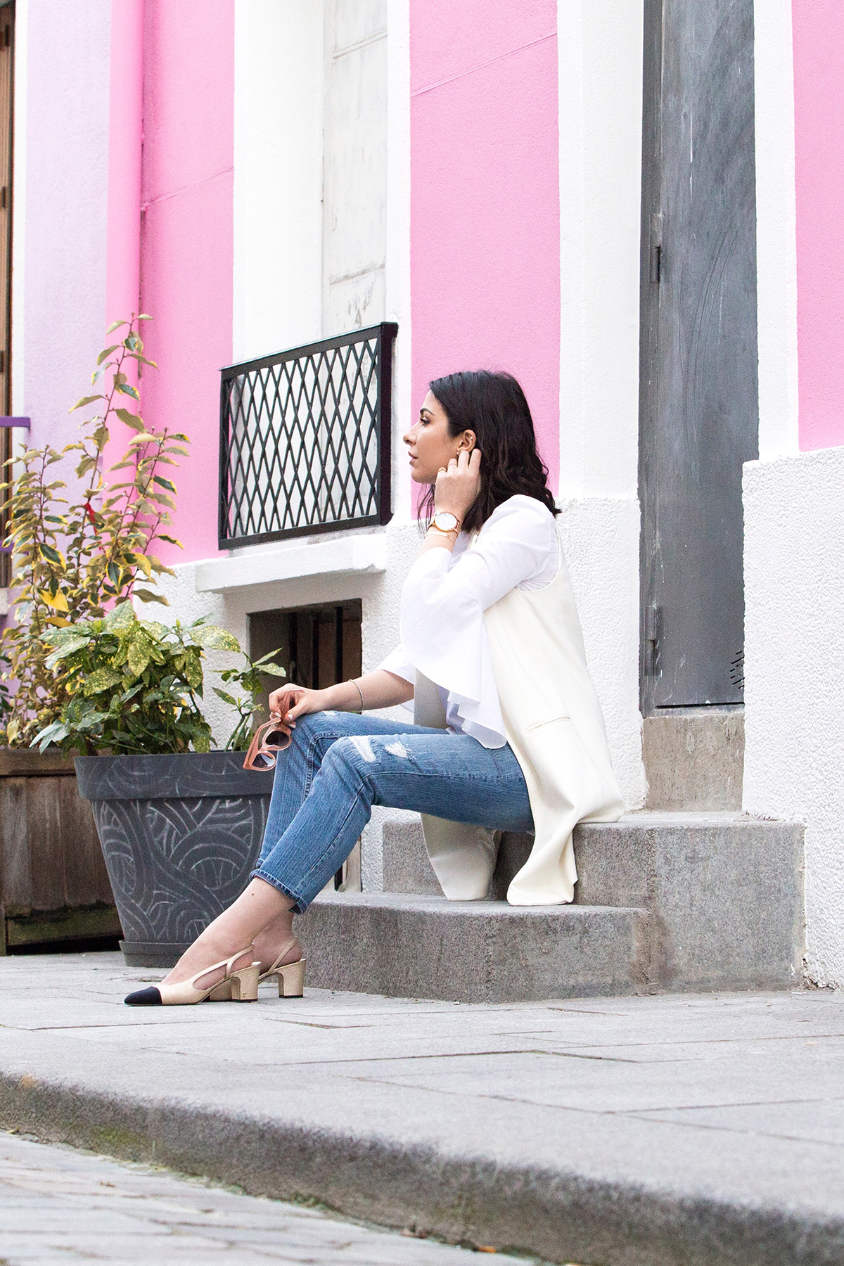 Statement Sleeves & Jeans For Spring