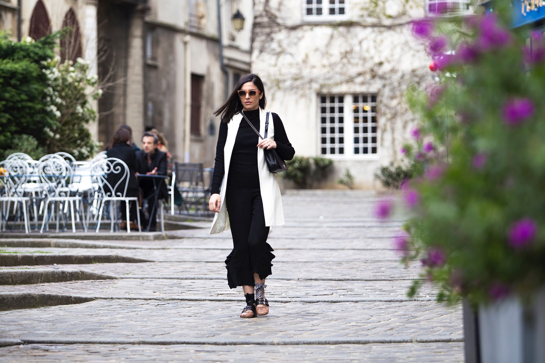 Black and white look by Stella Asteria - Fashion & Style Blogger