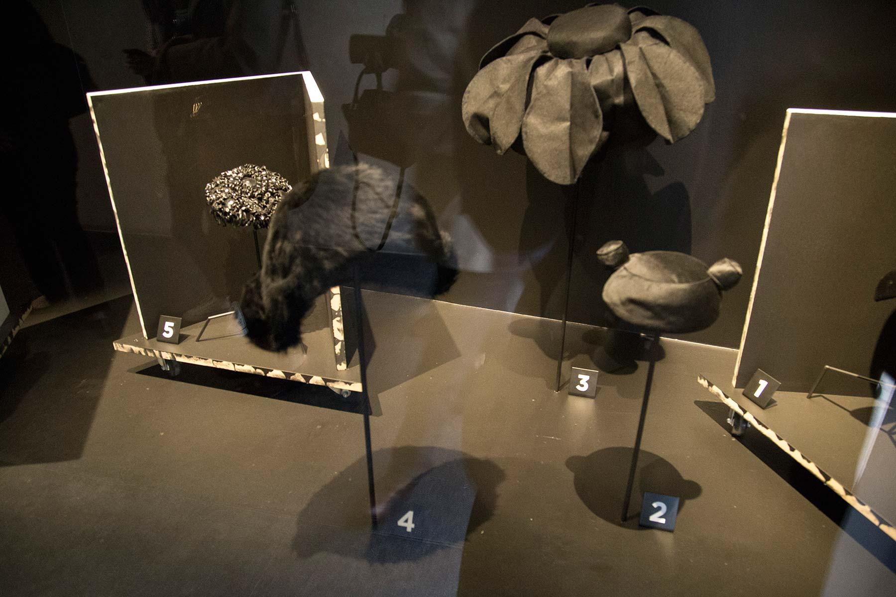 Balenciaga L'Oeuvre Au Noir Exhibition Paris - hats