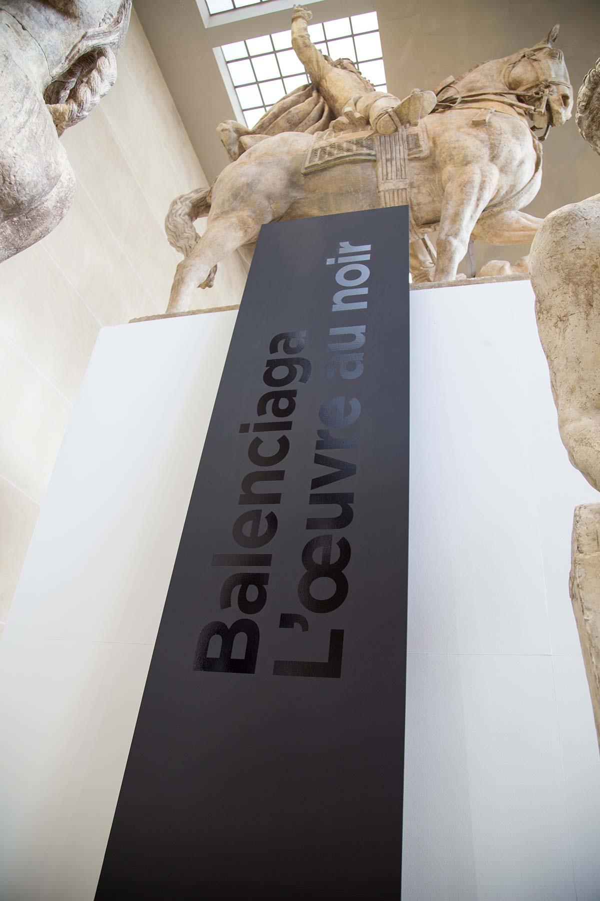 Balenciaga L'Oeuvre Au Noir Exhibition Paris