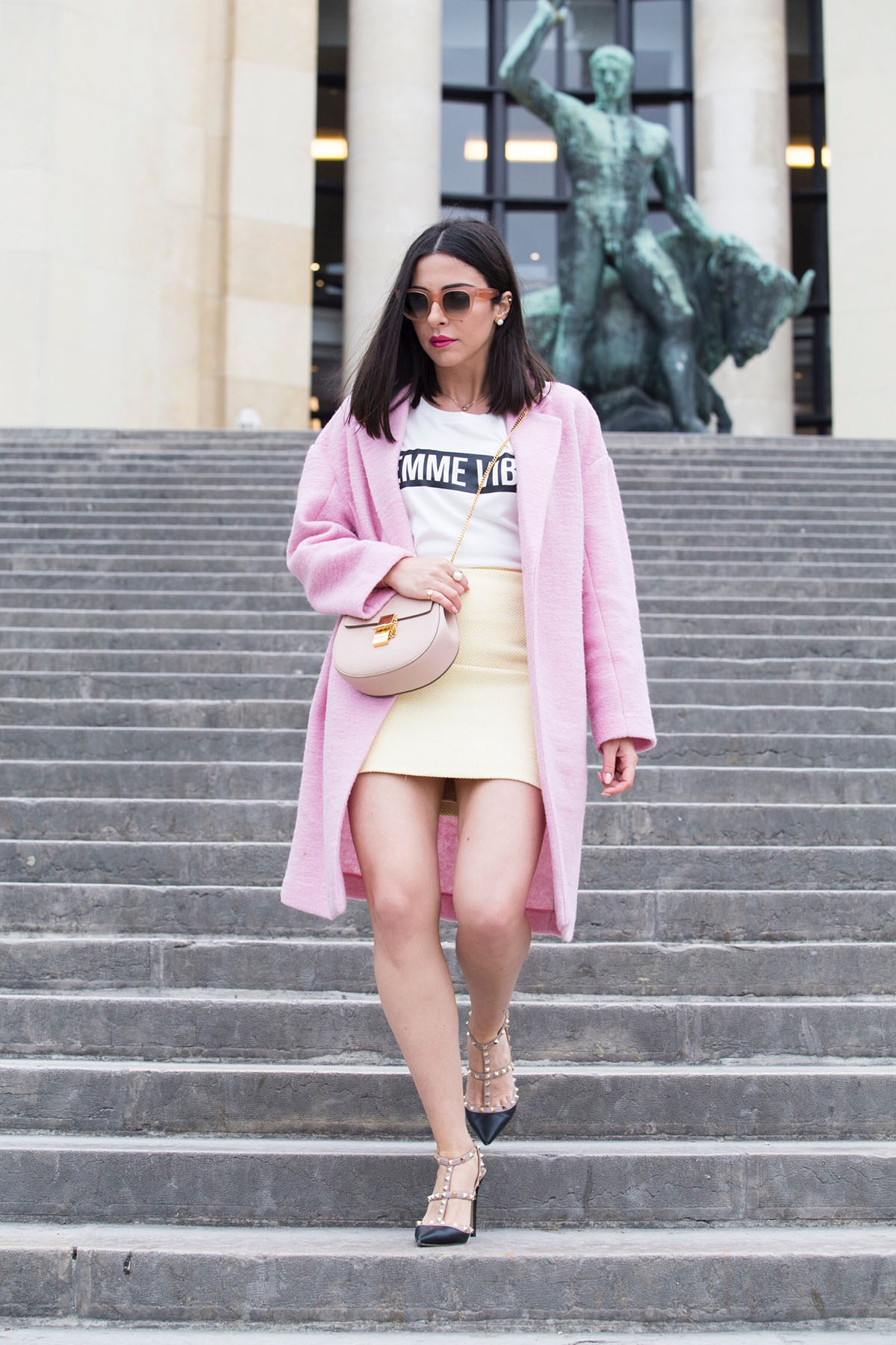 pink and yellow outfit by Stella Asteria - Fashion & Lifestyle Blogger