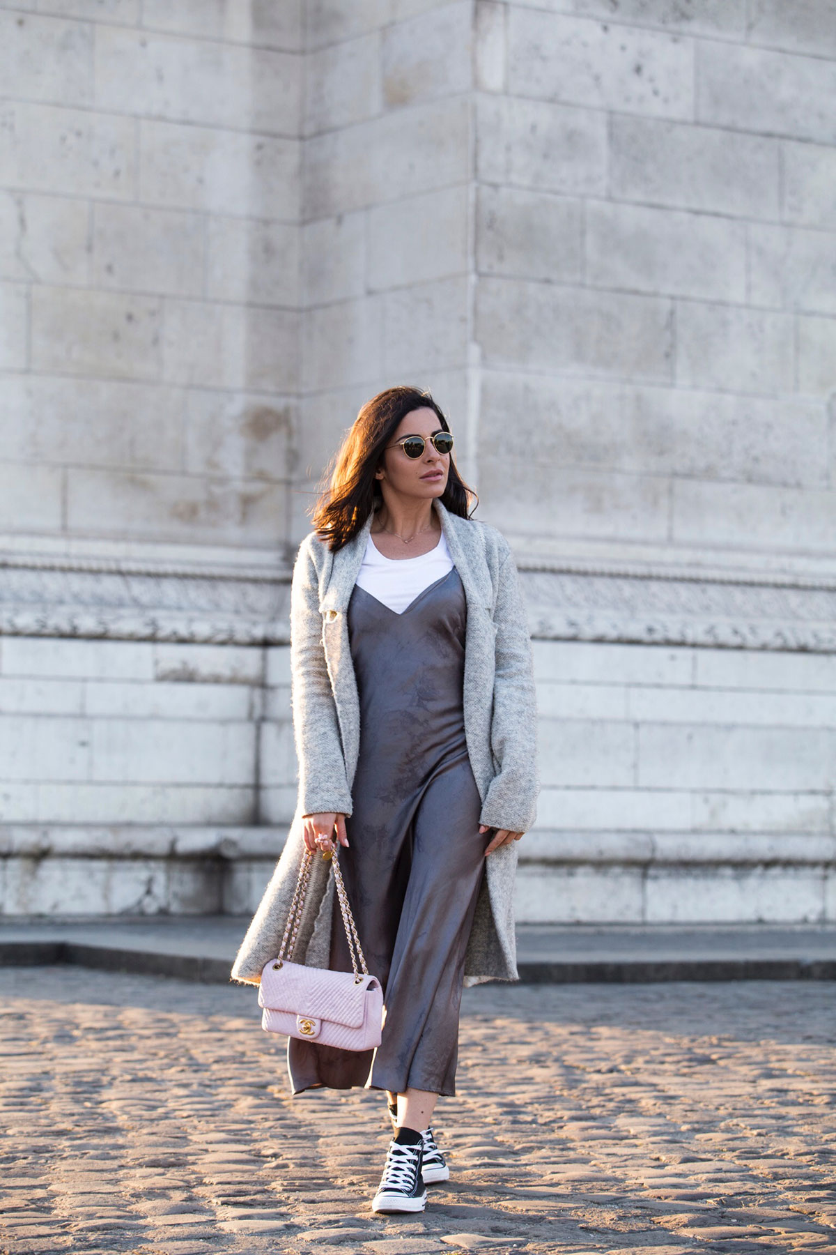 how to wear a spring dress when it's still cold - Stella Asteria Fashion & Lifestyle Blogger