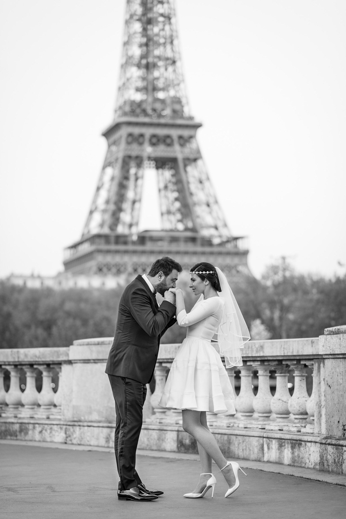 My Dream Intimate Wedding In Paris - Stella Asteria