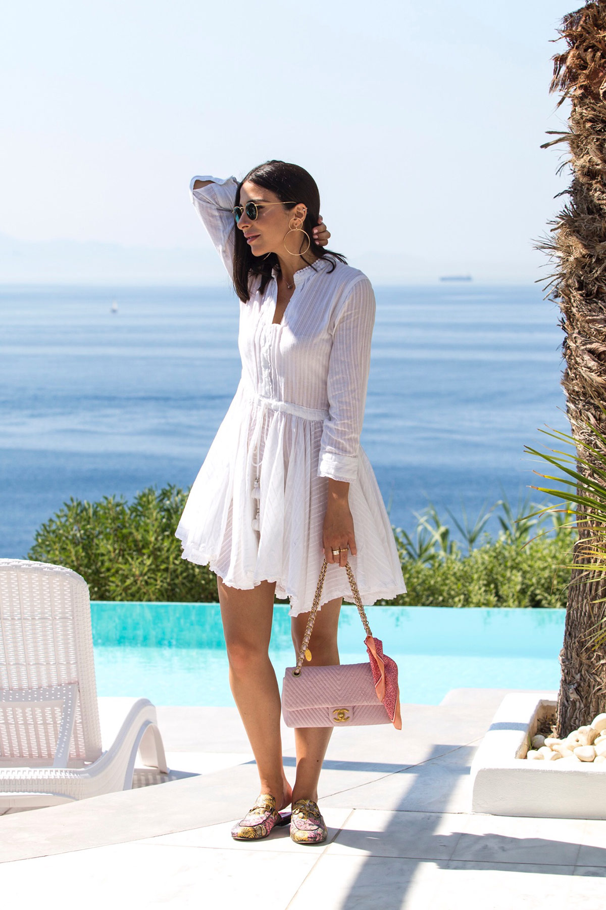 Little white dress by Stella Asteria | Fashion & Lifestyle Blogger