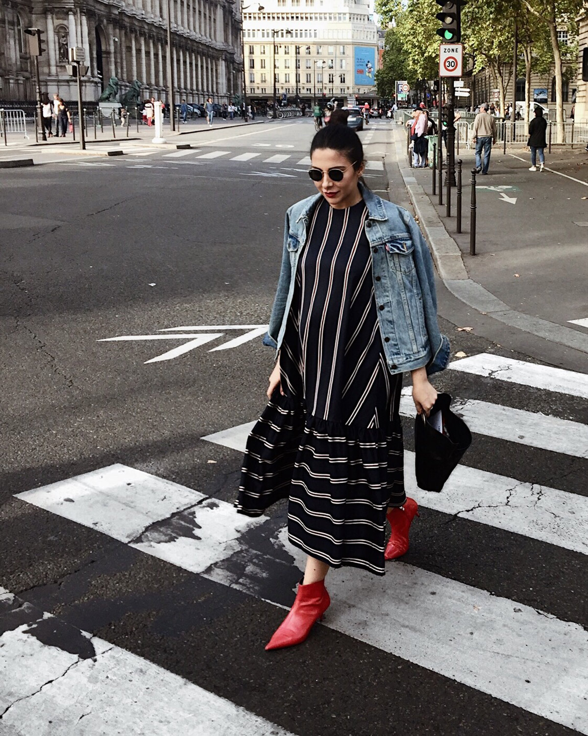 Paris Fashion Week SS18 Streetstyles - Stella Asteria