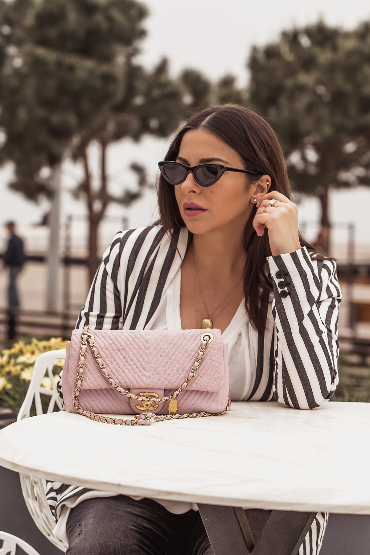 How To Wear A Striped Blazer For Spring
