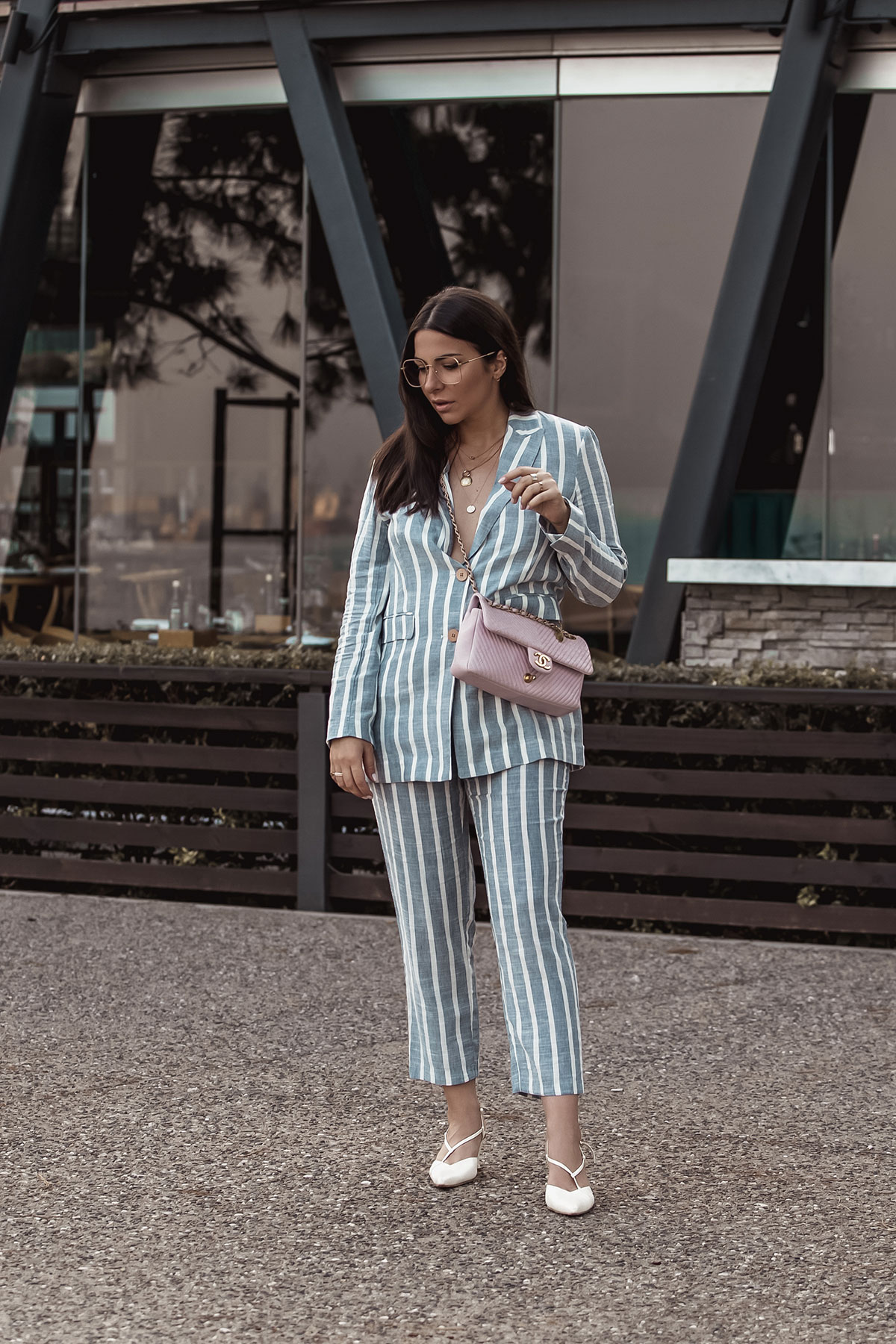 Spring Summer 2018 Trend - Striped Suit by Stella Asteria | Fashion & Lifestyle Blogger