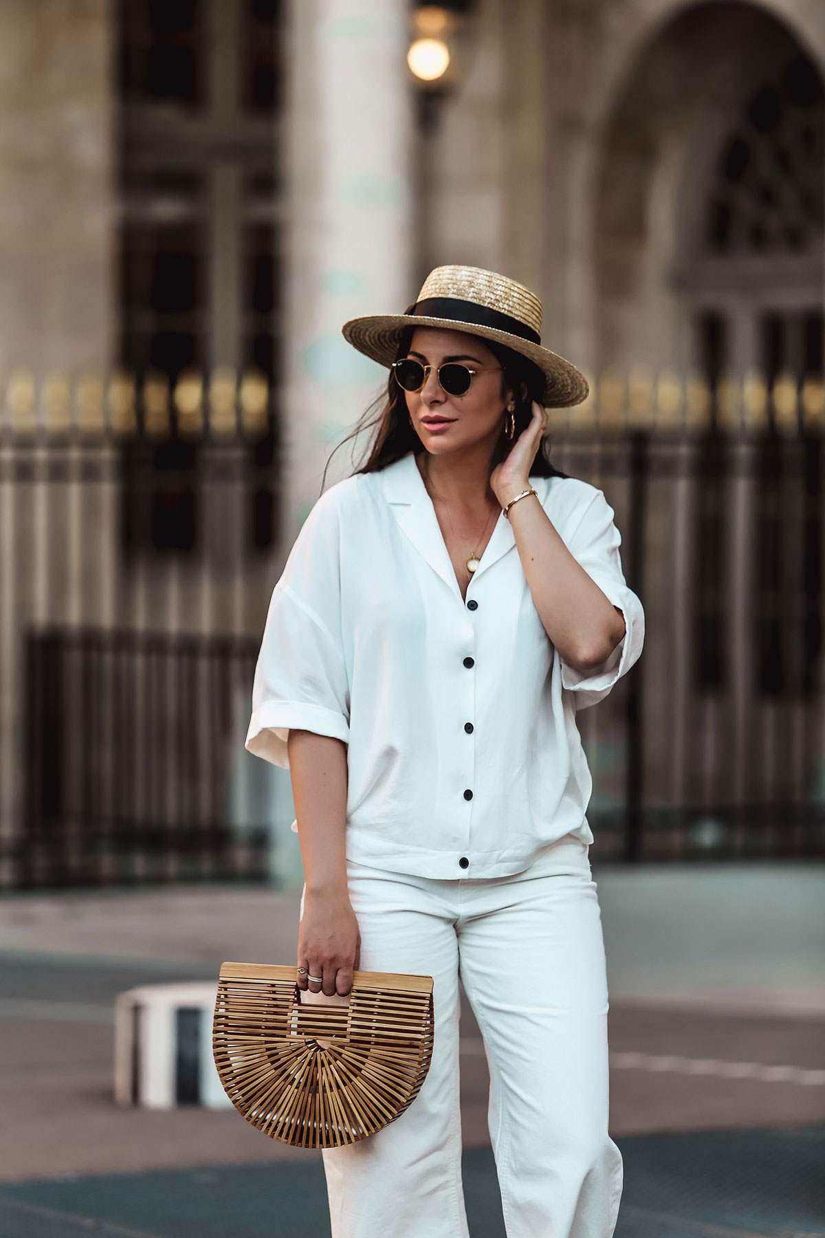 Stella Asteria Total White Look - Survive summer city - Tips on how to survive summer & the heatwave in the city