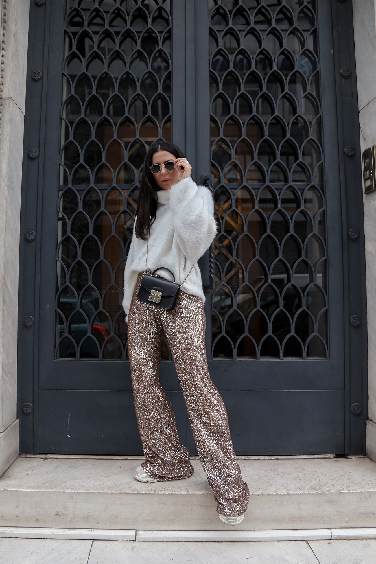 Stella Asteria - how to wear sequins in the daytime