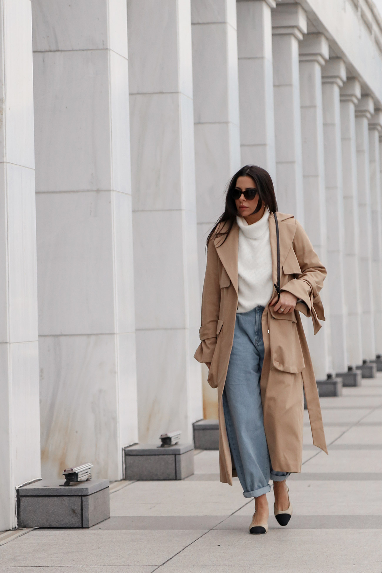 the best trench coats for winter to spring transition by Stella Asteria