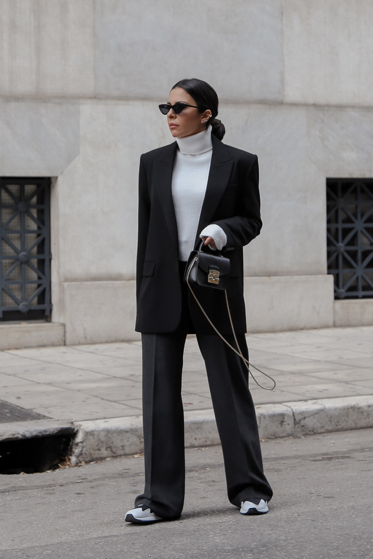 How To Wear A Women's Suit Casually by Stella Asteria