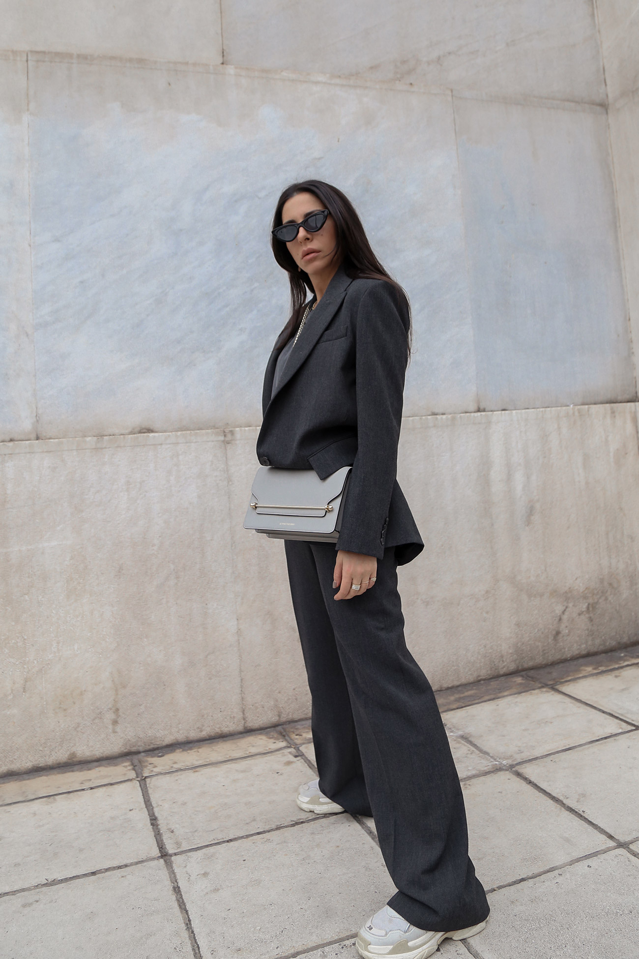 How To Wear A Women's Suit Casually