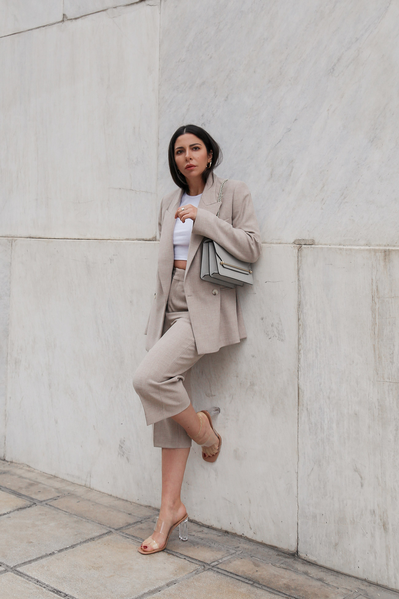 Bermuda suit trend Women's fashion spring summer 2020